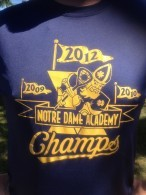 The Notre Dam Academy Saints of South Buffalo.