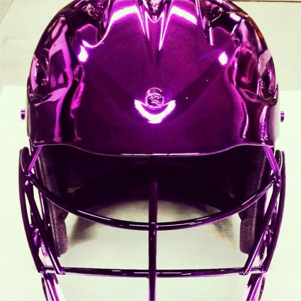 Tony Siragusa Lacrosse Helmet