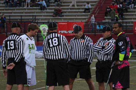 Referee coin toss LXM Pro 404 Atlanta