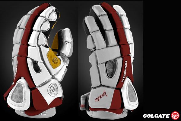 Colgate Lacrosse Glove Mockup