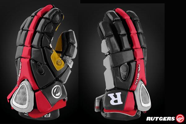 Rutgers Lacrosse Glove Mockup