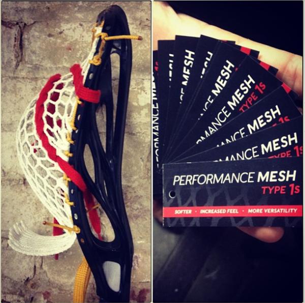 Stringking Lacrosse Performance Mesh