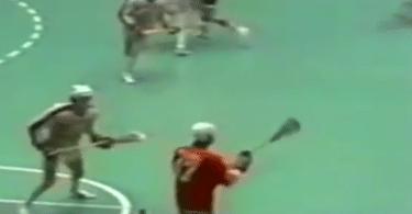 1974 box lacrosse nil wings griffins
