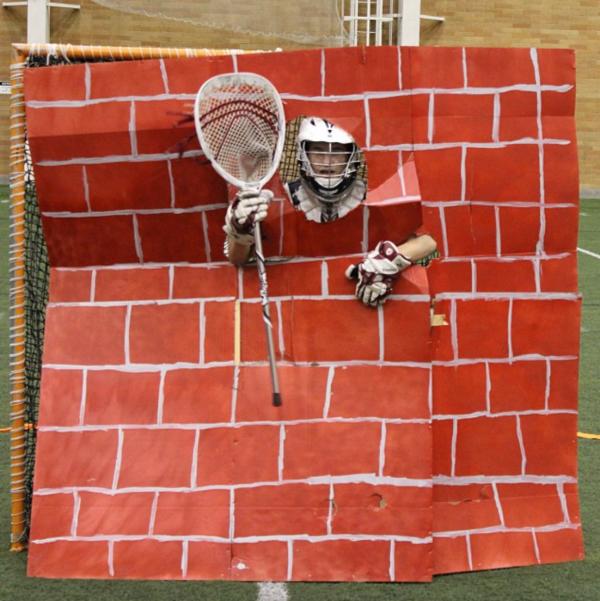 BYU Lacrosse Halloween Goalie
