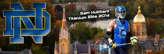 Sam Hubbard lacrosse recruit Notre Dame commits to Ohio State football