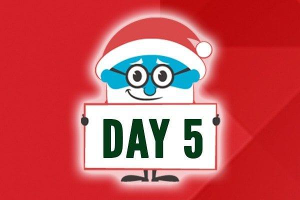 Fifth Day of Laxmas