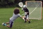 Connor Martin teaches the dive shot