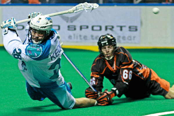 Rochester Knighthawks vs. Buffalo Bandits Stephen Keogh NLL Photo Credit: Larry Palumbo