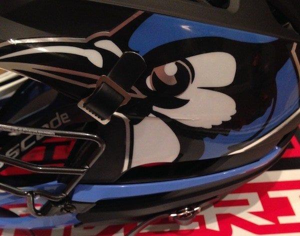 Johns Hopkins cascade r lacrosse helmet d1 bowl week