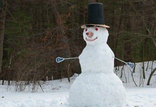 Lacrosse Snowman