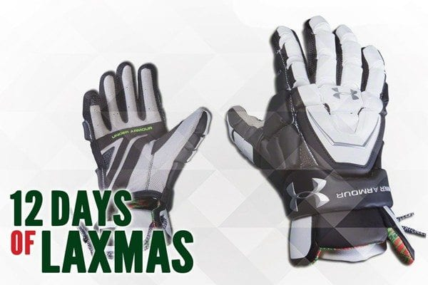 ua Headline gloves by under armour 8th day of laxmas