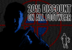 20% off all lacrosse footwear