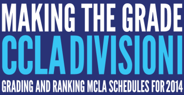Making the grade ccla division 1