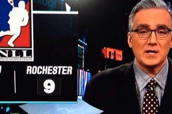 Olbermann ESPN talks about NLL Rochester Knighthawks and Buffalo Bandits