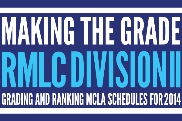 Making the grade: rmlc division 2