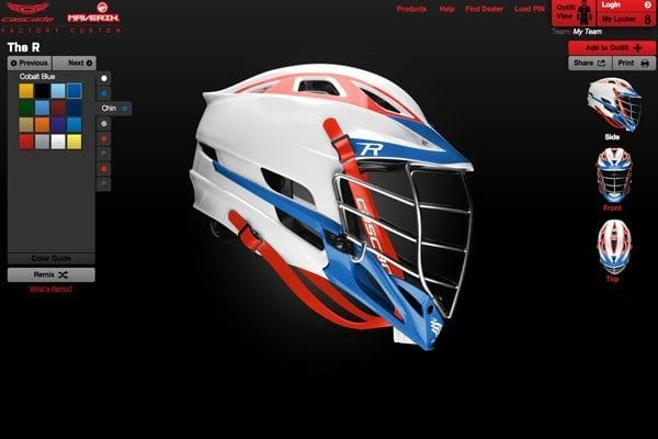 Factory custom helmet giveaway