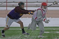 Iroquois vs Cortland State mens lacrosse