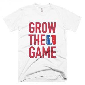 Grow the Game Tee - WHITE