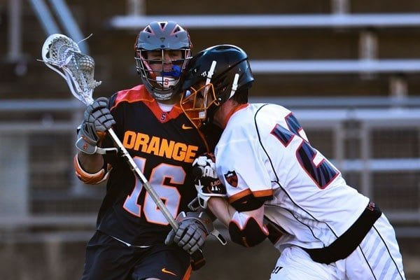 Syracuse vs Princeton mens lacrosse