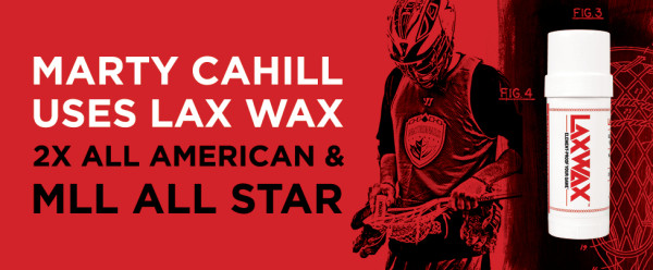 Lax Wax Marty Cahill uses Lacrosse Wax