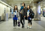 Humans of New York Lacrosse Girls on New York City Subway
