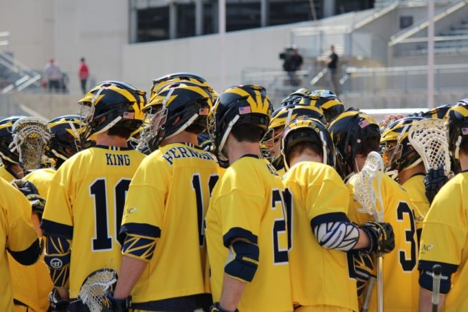 Ohio State vs Michigan lacrosse photo cred: LaxAllStars 2017 ncaa d1 lacrosse