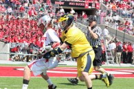 Ohio State vs. Michigan lacrosse 4/12/14 cred: LaxAllStars