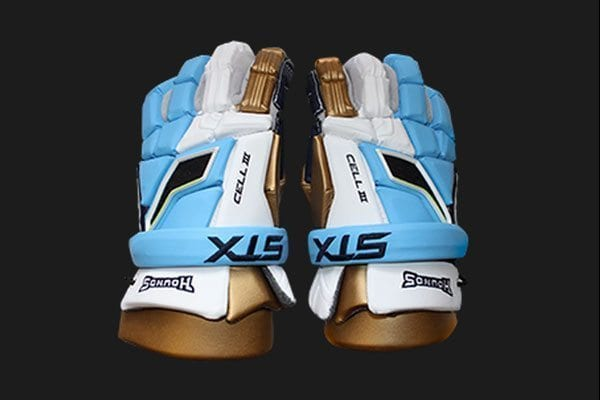 Charlotte Hounds STX Cell 3 gloves