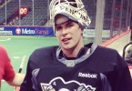 Sidney Crosby NHL penguins playing lacrosse with Minnesota swarm
