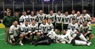 Vermont Voyageurs mens box lacrosse team