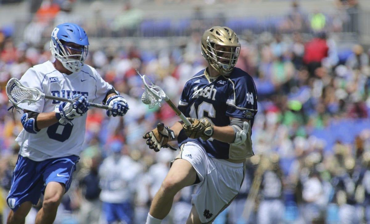 ACC Duke vs Notre Dame 2014 NCAA Men's Lacrosse Finals comparing the lacrosse polls