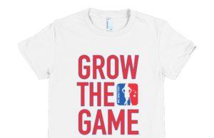 Grow The Game Women's Tshirt - White