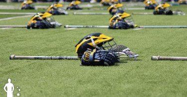 Michigan lacrosse helmet 2014