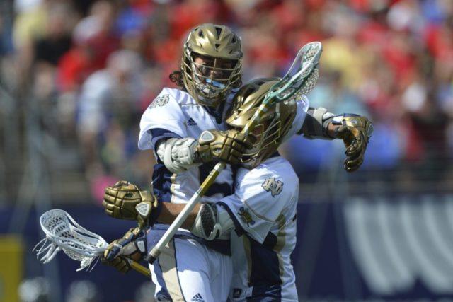 Notre Dame vs. Maryland 2014 NCAA Men's Lacrosse Semi-Final Photo Credit: Tommy Gilligan