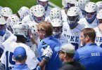 Duke vs Johns Hopkins mens lacrosse 2014 NCAA quarter final john danowski