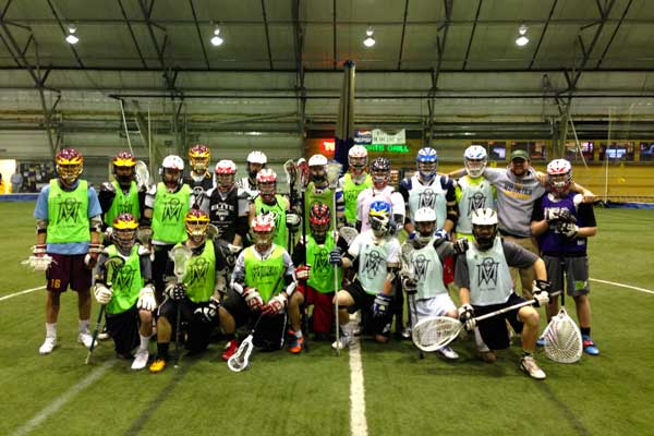 Sam Lane lacrosse Maineiax lacrosse