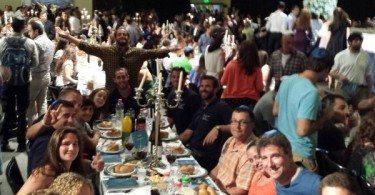 Guinness World Records largest Shabbat dinner