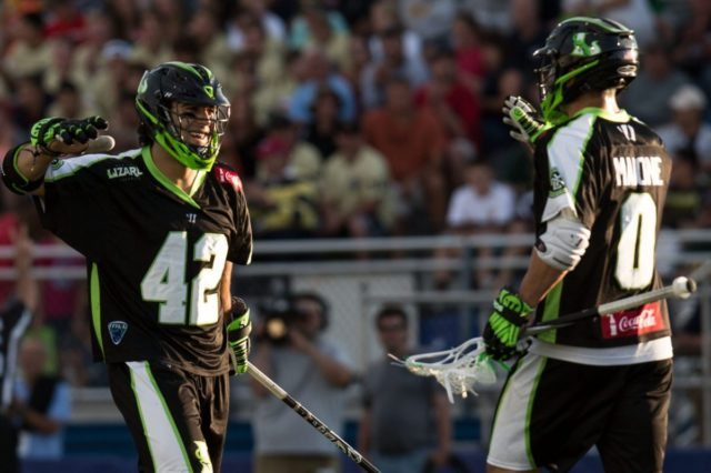 pride and character New York Lizards vs. Charlotte Hounds 6.21.14 Photo Credit: Casey Kermes