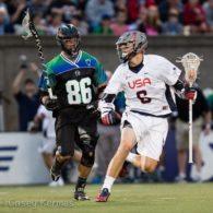 Team USA vs. MLL All-Stars 2014 MLL All-Star Game Photo Credit: Casey Kermes