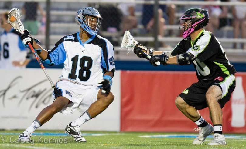 Harrison in action for the Machine