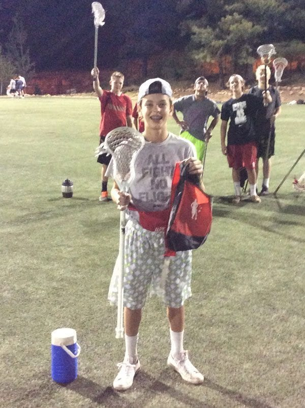 Rhino Lacrosse Academy Flagstaff Stick Trick Competition Winner