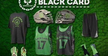 Adrenaline lacrosse Black Card gear