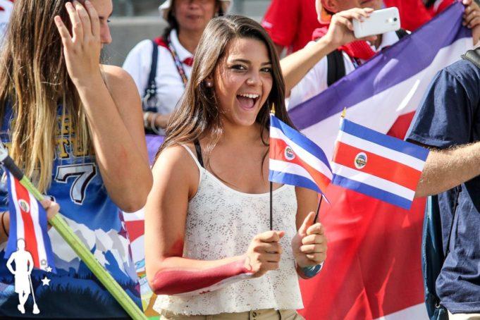 Costa Rica - 2014 World Championships Opening Ceremony
