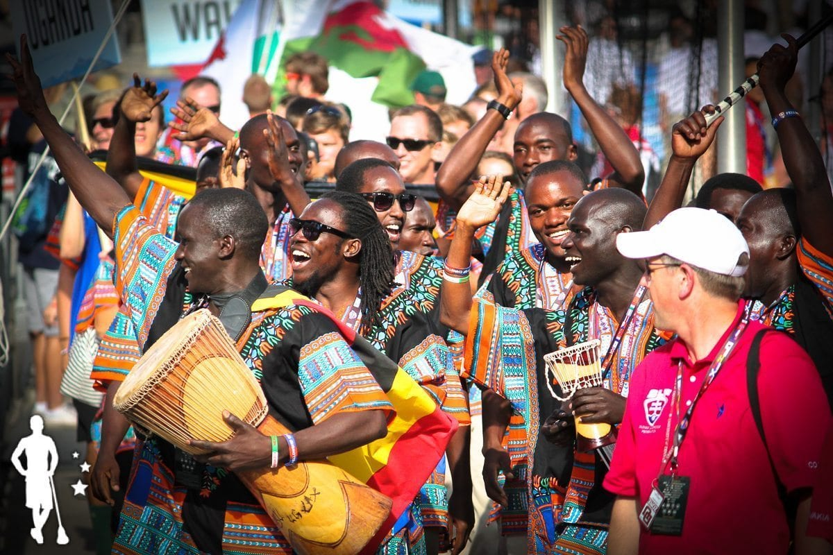 Uganda - 2014 World Championships Opening Ceremony