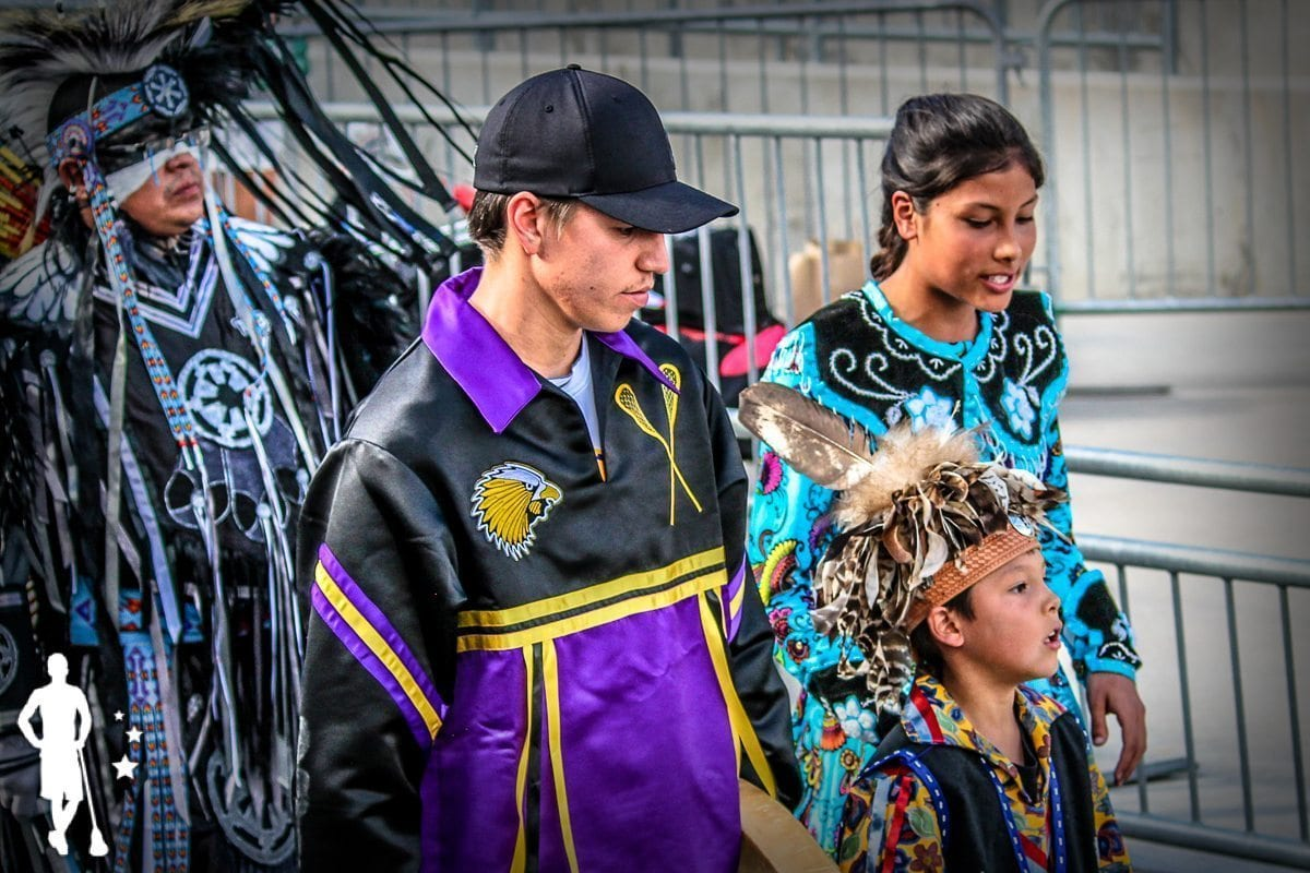 Iroquois - 2014 World Championships Opening Ceremony