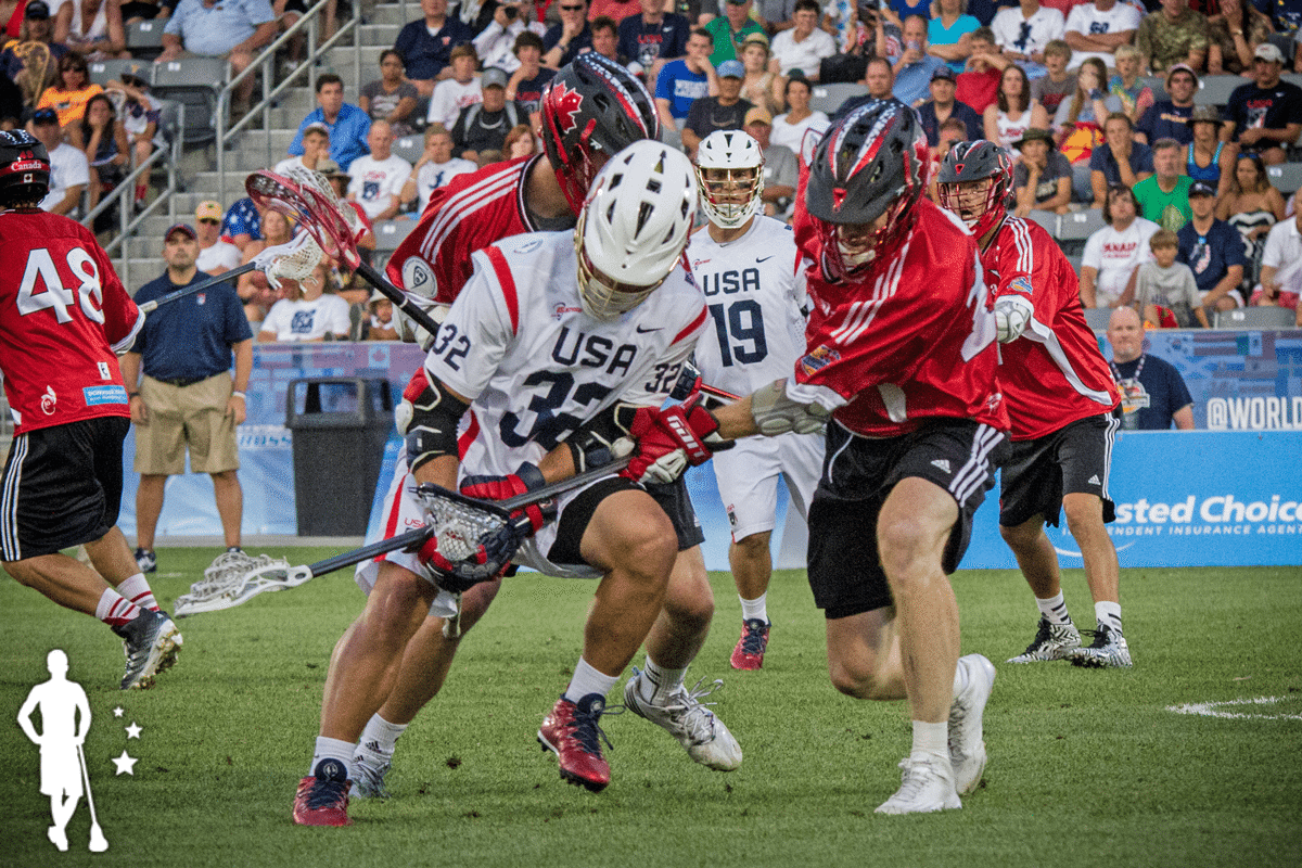 Canada vs United States 2014 World Lacrosse Championship Gold Medal Game USA