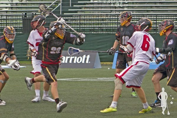 Belgium vs Germany Lacrosse 2014 World Lacrosse Championship