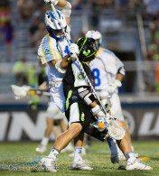New York Lizards vs. Florida Launch Credit: Casey Kermes