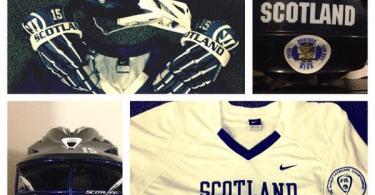 Scotland lacrosse international gear