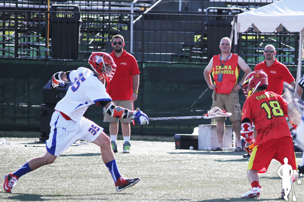 Netherlands v China 7/11 World Lacrosse Championships